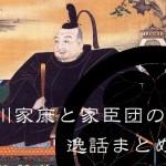 徳川家康と家臣団の逸話まとめ!!